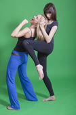 Self defence for women — Stock Photo