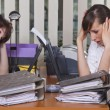 Stress by the work — Stock Photo #2905401