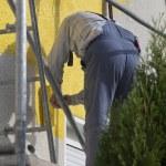 maison peinture homme — Photo