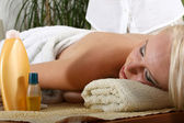 Waiting for relaxing Massage — Stock Photo