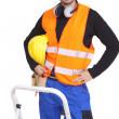 trabalhador manual feliz — Foto Stock