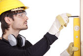 Handyman working — Stock Photo