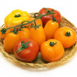 Color tomatos - Stock Photo