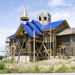 Construction site church - Stock Photo