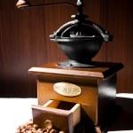 Vintage coffee grinder — Stock Photo