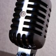 Retro-styled microphone — Photo