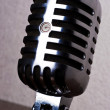 Retro-styled microphone — Stock Photo