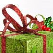 Two wrapped gift boxes — Stock Photo