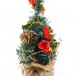 Decorative Christmas firtree — Stock Photo