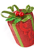 Capodanno pacchetto regalo — Foto Stock