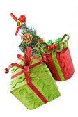 рождественские подарки — Стоковое фото