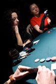 Pokerspelare — Stockfoto