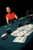 High stakes — Stock Photo