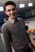 Bowling spiel gewinner — Stockfoto