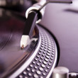 Vinyl record player spinning the disc — Stock Photo #3708541