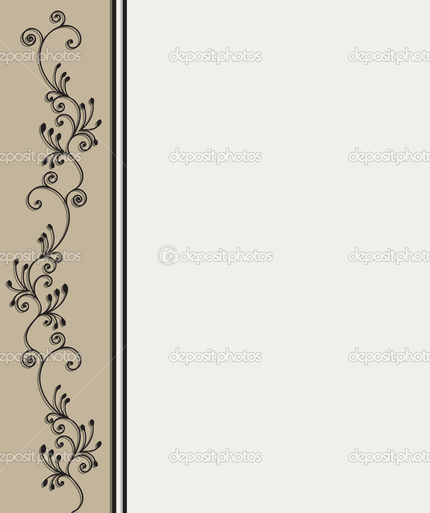 Victorian frame  Stock Vector #3011929