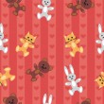 Seamless children's background — Stock Vector