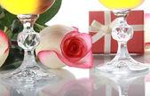 Fresh rose — Stock Photo
