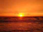 Sea sundown — Stock Photo