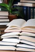 Biblioteka domu — Zdjęcie stockowe