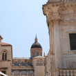 Cathedral in Dubrovnik — Stock Photo
