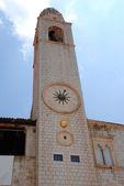 Dubrovnik clock tower — Stock Photo