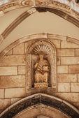 Sculpture of saint Vlaho — Stock Photo
