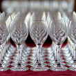 Lots of wine glasses - Stock Photo