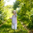 Little baby in a forest — Stock Photo #3120201