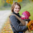 Young mother with her little baby — Stock Photo #3120242