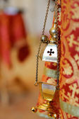 Thurible in orthodox chapel — Stock Photo
