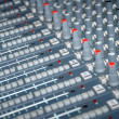Royalty-Free Stock Photo: Sound mixing console