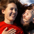 Laughing Girls - Foto Stock