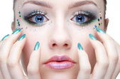 Make-up — Stockfoto