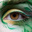 Eyezone bodyart — Stock Photo #2968909