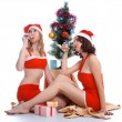 Celebrating Christmas — Stock Photo #3564826