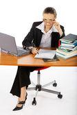 Femme d'affaires — Photo
