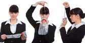 Hostes üniforması — Stok fotoğraf