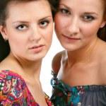 Girls in summer dresses — Stock Photo #3754229