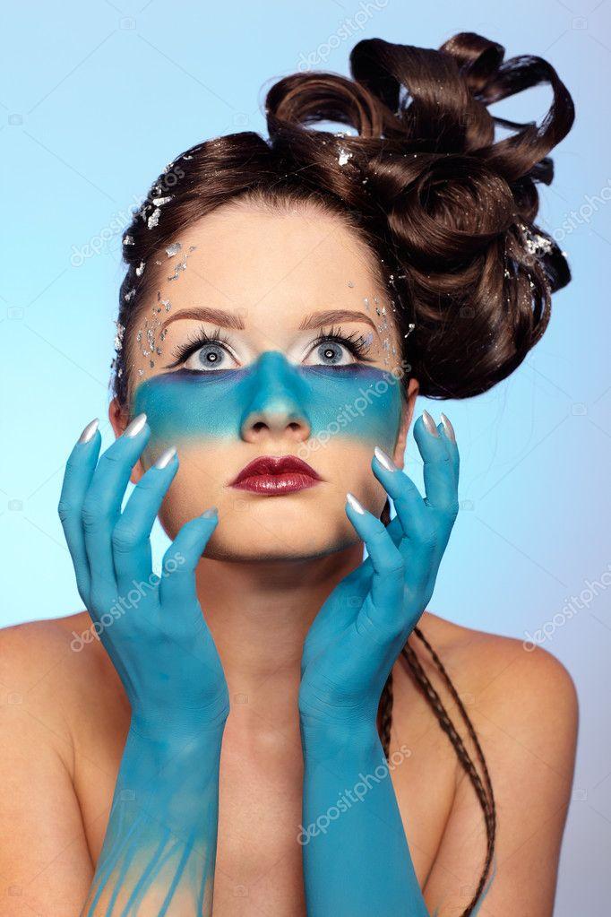 facial bodyart and fantasy