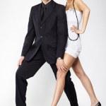 Fancy couple — Stock Photo #4206740