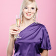 Blonde party girl — Stock Photo #4256066