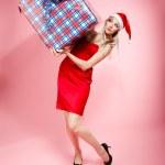 クリスマス プレゼント女の子 — ストック写真 #4256191