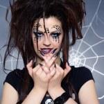 Spider girl — Stock Photo #4325345
