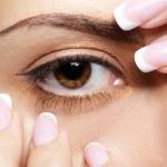 Girl's eye-zone make-up — Stock Photo #4325613