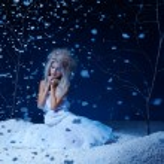 Frozen fairy — Stock Photo