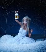 Bevroren fairy — Stockfoto