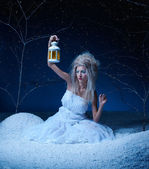 Frozen fairy — Stockfoto