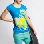 Girl with skateboard — Stock Photo #4484365