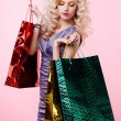 Girl with shopping bags — Stock Photo #4583999